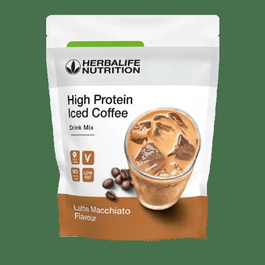 Протеиновый кофе со вкусом Латте Макиато